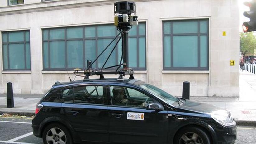 Google Street View: Street View speichert auch WLANs