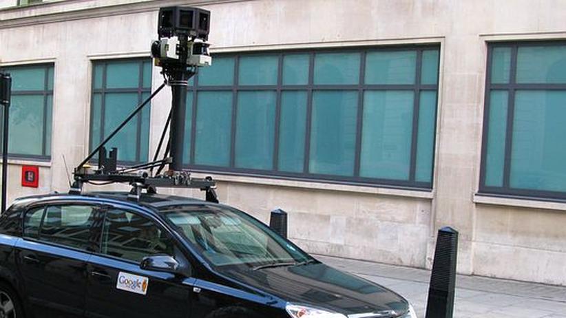 Google: Die Kameras von Google Street View fotografieren ganze Städte ab
