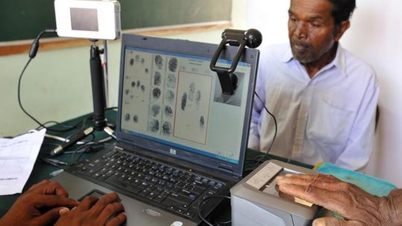 Biometrie: Indien scannt all seine Einwohner