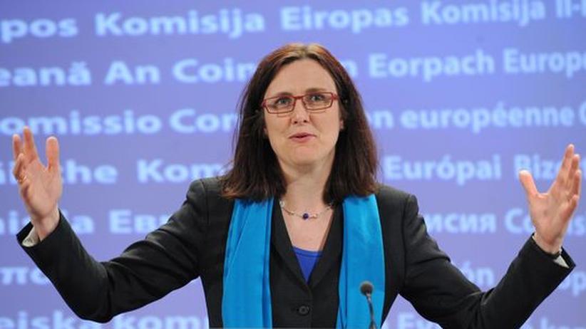 Die Schwedin Cecilia Malmström ist als EU-Kommissarin zuständig für Innenpolitik