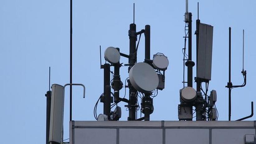 Mobilfunkantennen speichern alle bei ihnen eingebuchten Handys