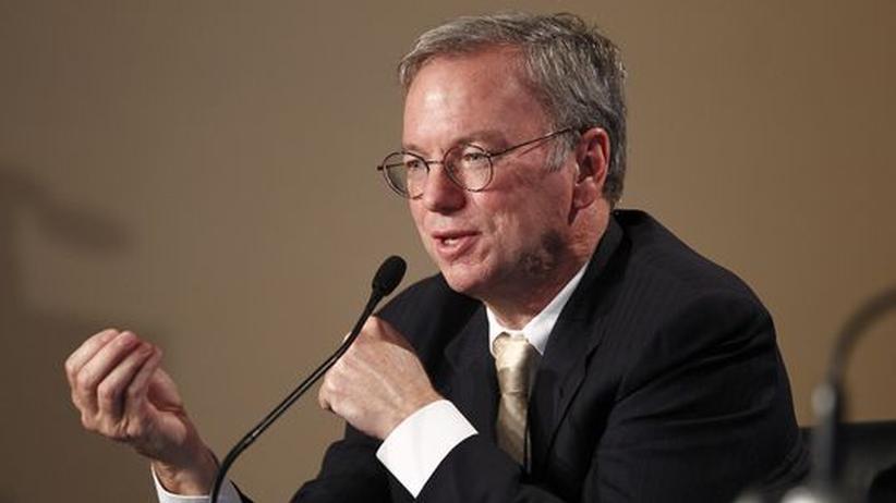 Eric Schmidt, einst CEO, nun Mitglied im Verwaltungsrat von Google