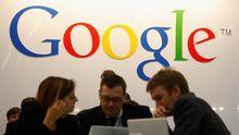 Google-Stand auf der Frankfurter Buchmesse