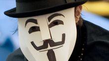 Die Guy-Fawkes-Maske ist ein gern verwendetes Symbol der Anonymous-Gruppierung