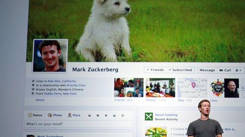 Timeline: Schaar sieht rote Linie durch Facebook überschritten