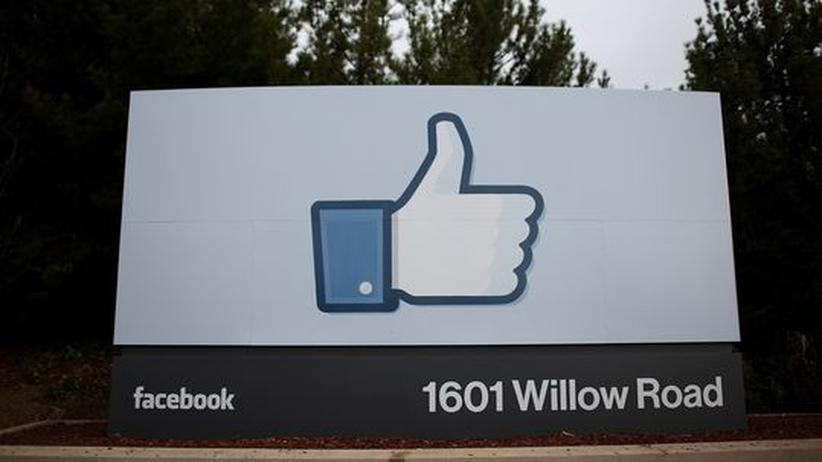 Facebook-Firmensitz in Menlo Park in Kalifornien