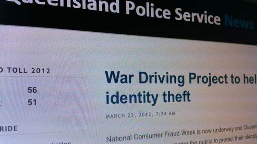 War-Driving: Polizei in Australien sucht nach offenen WLANs