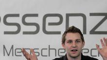 """Max Schrems von der Initiative """"Europe versus Facebook"""""""