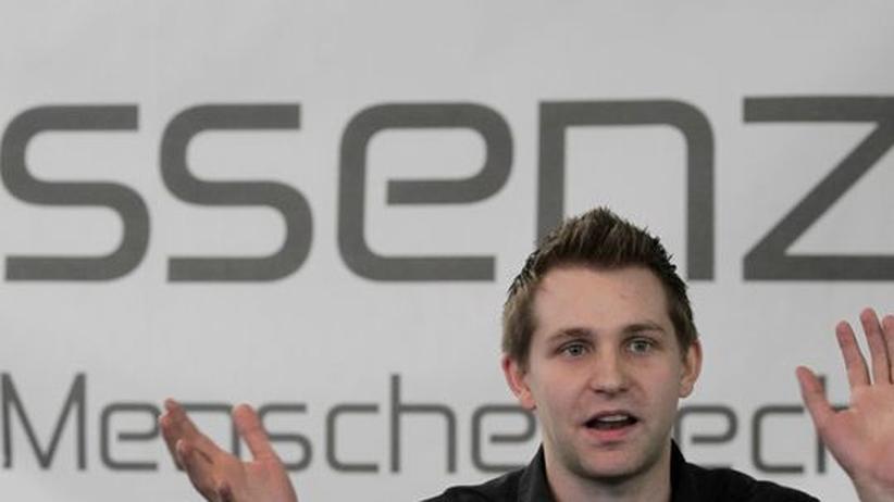 """Nutzerdaten: Max Schrems von der Initiative """"Europe versus Facebook"""""""