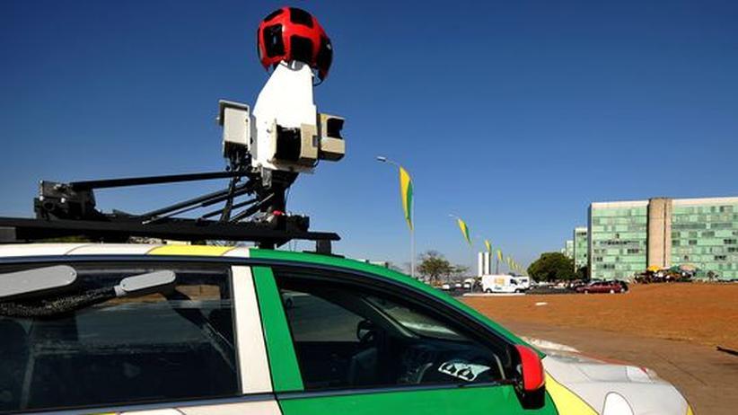 Street View: Google sammelte Daten von WLANs absichtlich