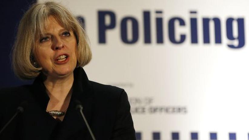Vorratsdaten: Die britische Innenministerin Theresa May