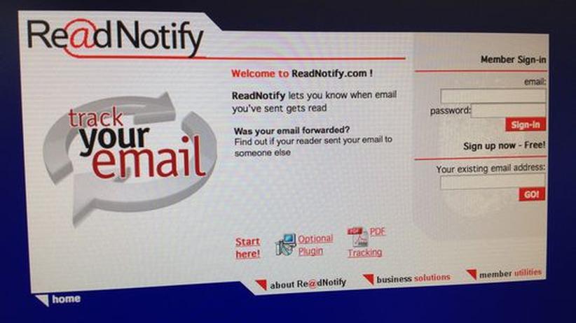 ReadNotify: E-Mail mit Schnüffelfunktion