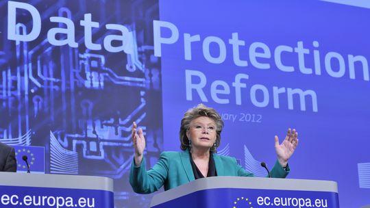 EU-Kommissarin Viviane Reding möchte den europäischen Datenschutz neu regeln.