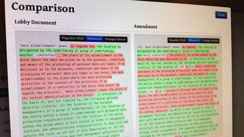 Lobbyismus: Gegen die Copy-Paste-Politik