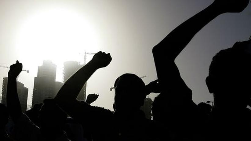 Demonstration in Bahrain 2011