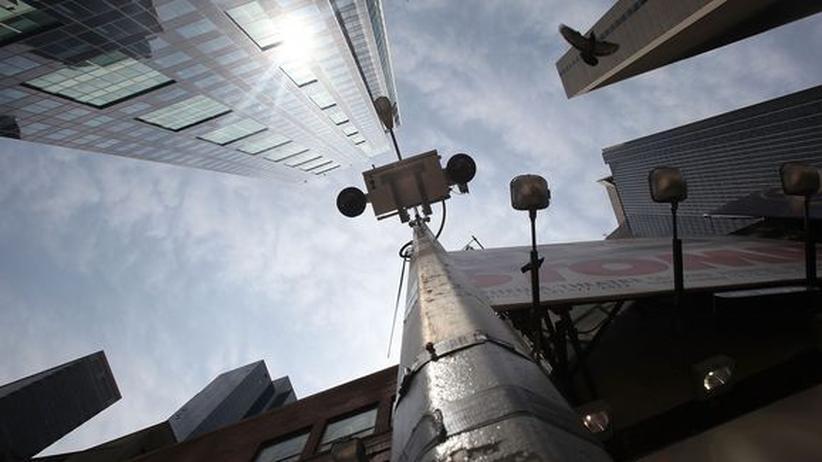 Terrorbekämpfung: New York will Geld mit Überwachungstechnik verdienen