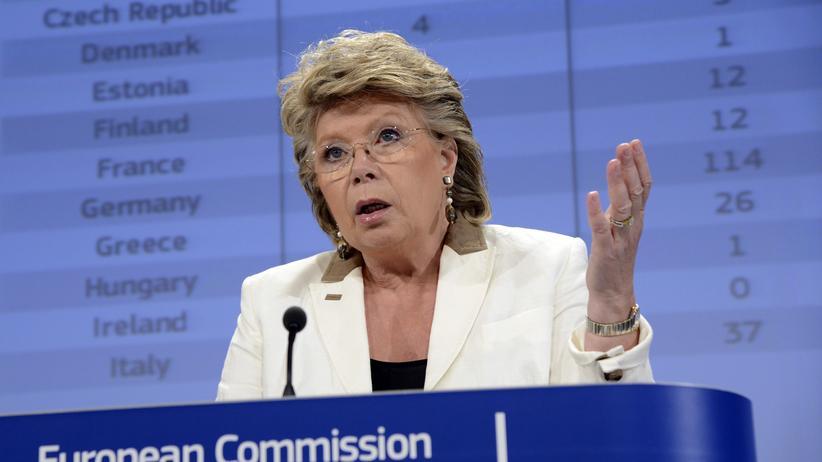 """Viviane Reding: """"Das kann richtig wehtun"""""""