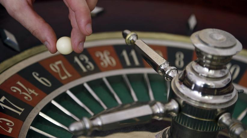 Ein Roulettekessel