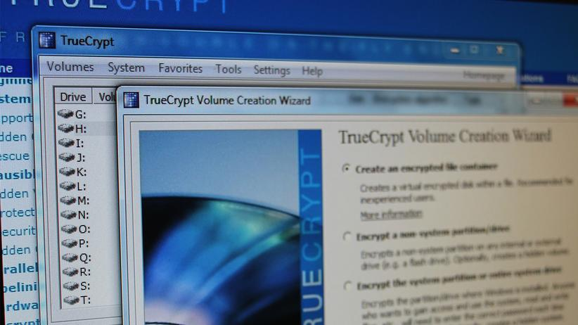 Installationsfenster von TrueCrypt