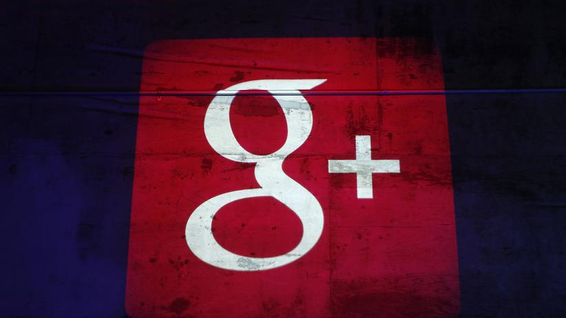 YouTube und Google Plus: Logo von Google plus