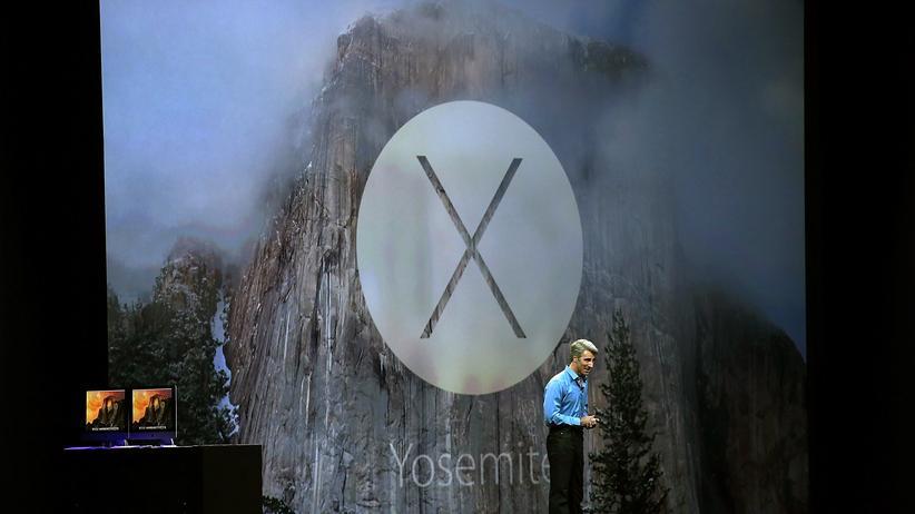 Yosemite telefoniert nach Hause