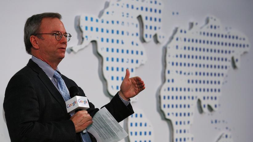 Google-Chef Eric Schmidt greift die US-Regierung an