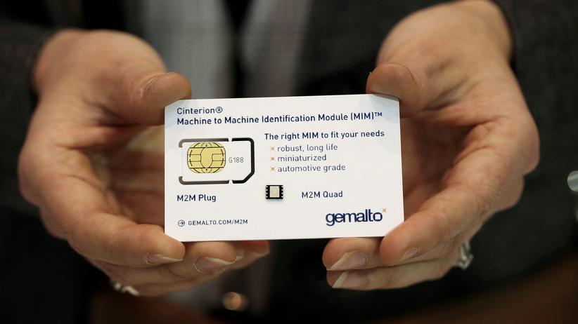 Gemalto: SIM-Karte von Gemalto