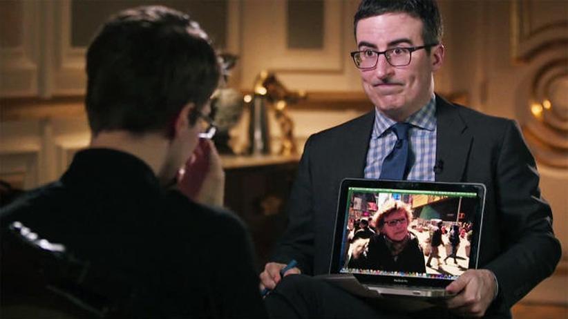 John Oliver: Digital, John Oliver, Edward Snowden, NSA, FBI, US-Kongress, Überwachung, Vorratsdatenspeicherung