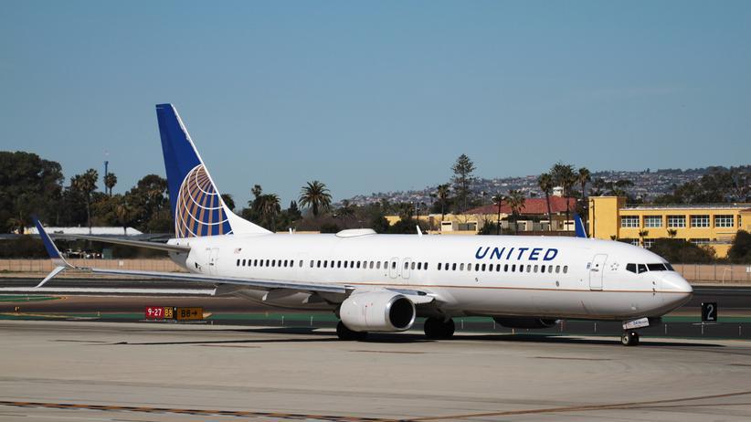Eine Boing 737-800 von United Airlines soll Chris Roberts gehackt haben.