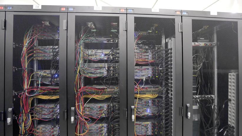 Frankreich Internet Server