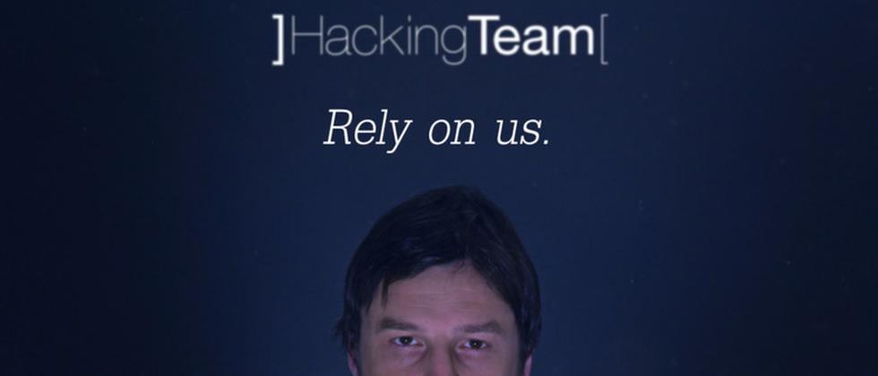 Szene aus einem PR-Video von Hacking Team