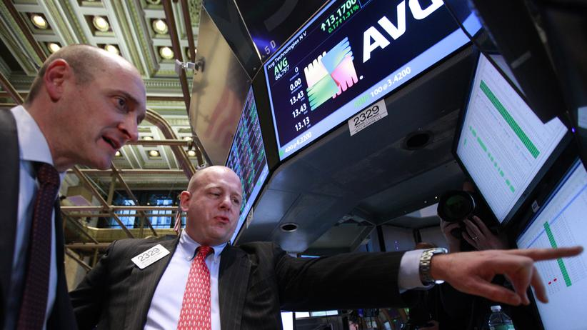 Seit 2012 an der New Yorker Börse: AVG