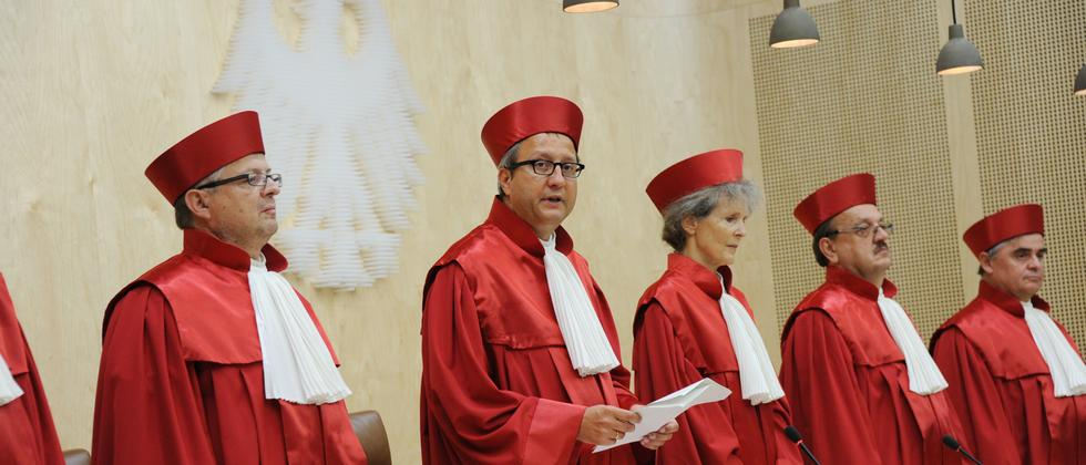 Richter am Bundesverfassungsgericht in Karlsruhe