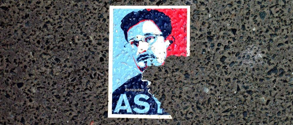 Snowden-Aufkleber