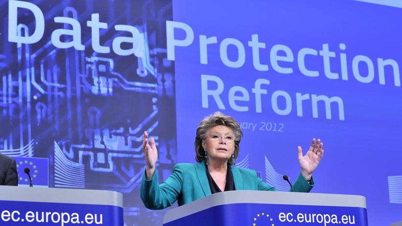 Datenschutzverordnung: So groß waren die Ambitionen von Viviane Reding, als sie 2012 den ersten Entwurf zur EU-Datenschutzgrundverordnung vorstellte.
