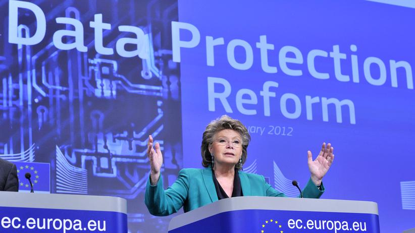 Datenschutzverordnung, Digital, Datenschutz, EU-Bürger, Viviane Reding, Bußgeld, Internet, Rechtslage