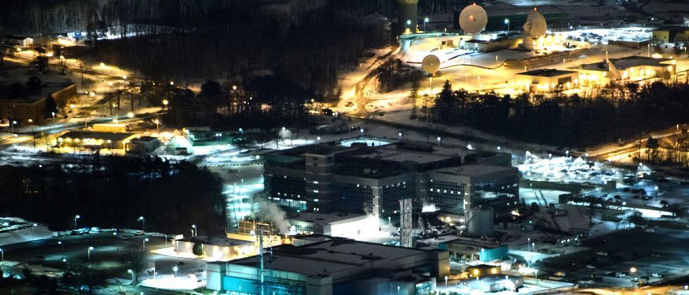Das NSA-Hauptquartier