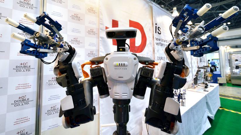 Der tut nichts, der will nur arbeiten: Roboter Nextage von Kawada Industries