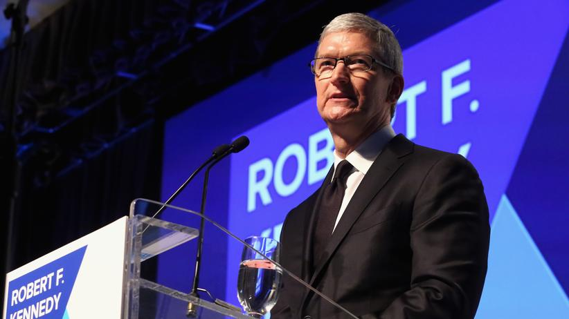 iPhone-Entschlüsselung: Apple-Chef Tim Cook