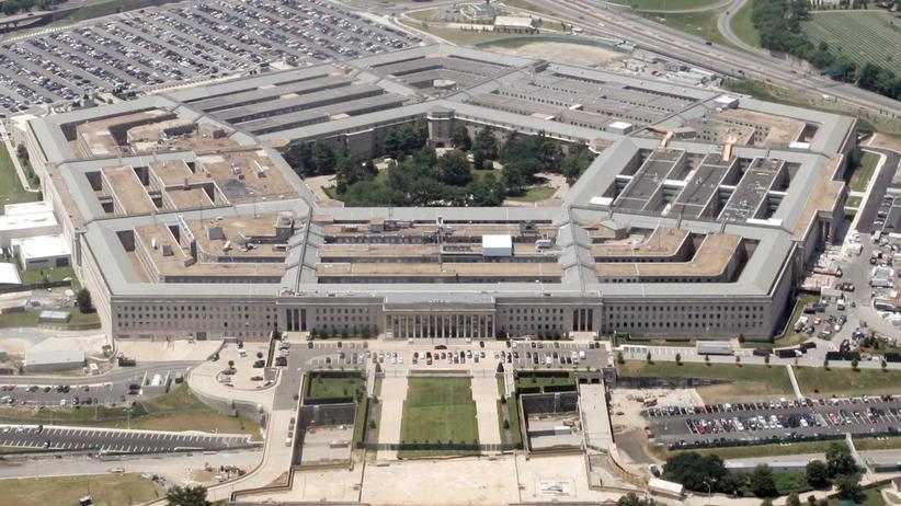 Das Pentagon in Washington, Sitz des US-Verteidigungsministeriums.