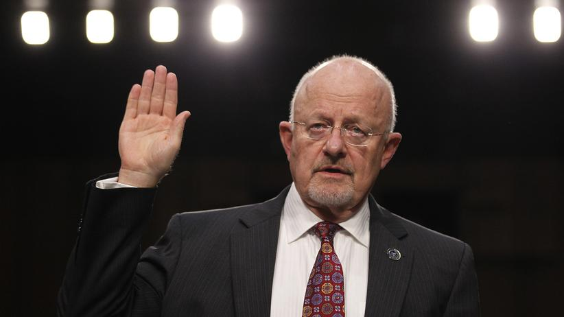 "Internet der Dinge: ""Nein, wir überwachen euch nicht durch eure Geschirrspüler, ich schwör!"" – James Clapper, Director of National Intelligence der USA."