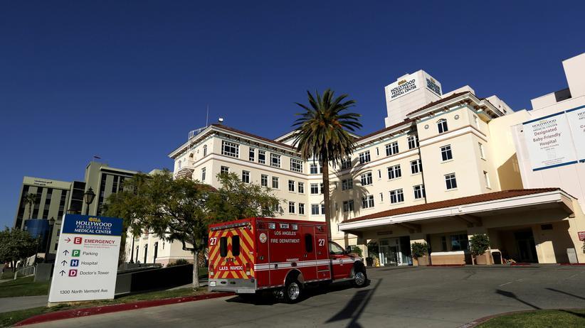 Ransomware: Schadsoftware hat die Elektronik im Hollywood Presbyterian Medical Center in Los Angeles lahmgelegt.