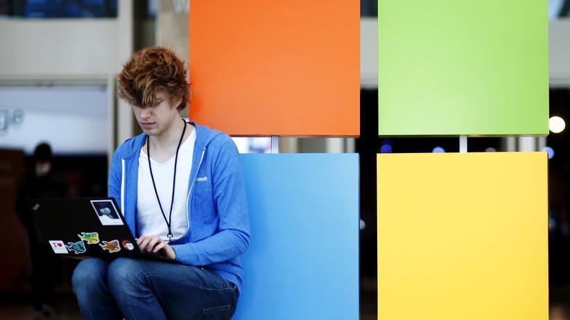Datenschutz: Logo von Microsoft
