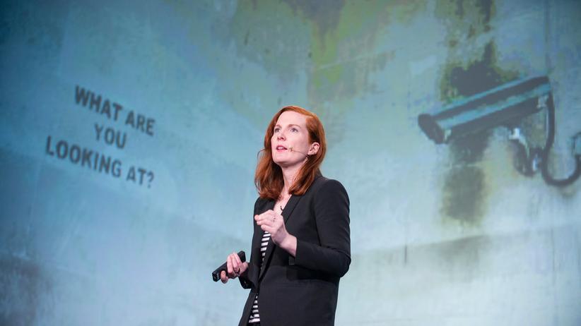 Kate Crawford auf der re:publica