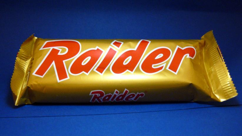 Privacy Shield: Raider-Schokoriegel bekamen 1991 einen neuen Namen verpasst, aber die Zutaten blieben die gleichen.