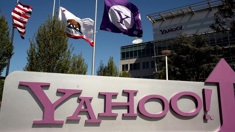 Yahoo-Zentrale in Sunnyvale, Kalifornien