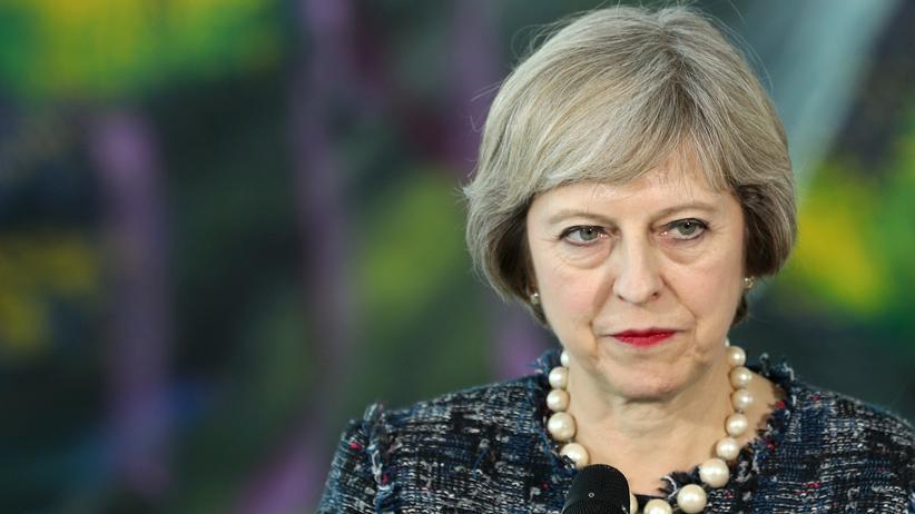Großbritanniens Premierministerin Theresa May hat das neue Überwachungsgesetz mit auf den Weg gebracht.