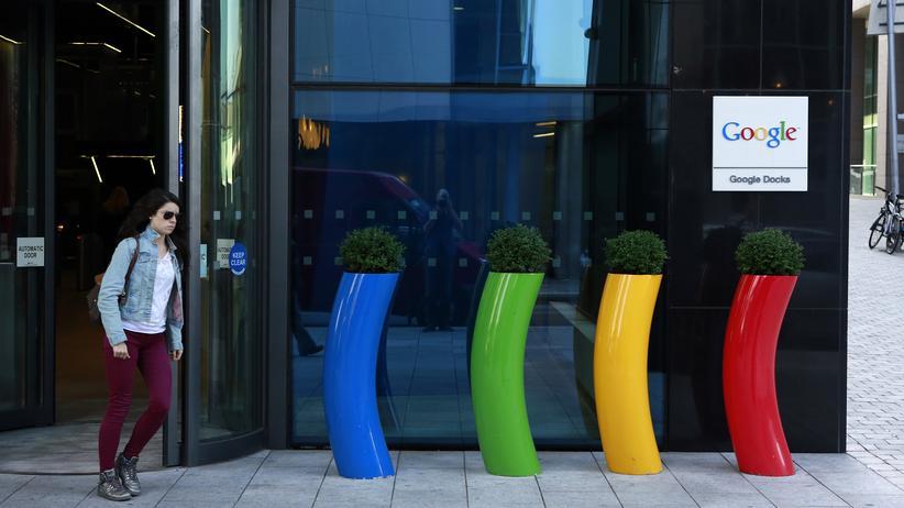 Tisa-Abkommen: Tritt Tisa in Kraft, bräuchte Google sein Büro in Dublin streng genommen nicht mehr.