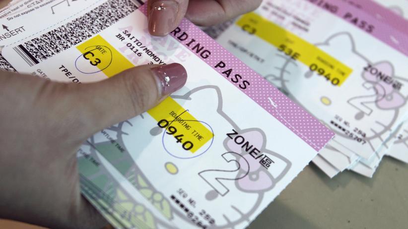Im Barcodes von Flugtickets versteckt sich ein Passwort