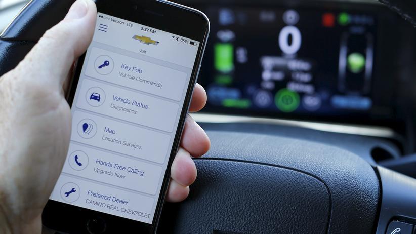 Überwachung: Onstar-App von General Motors